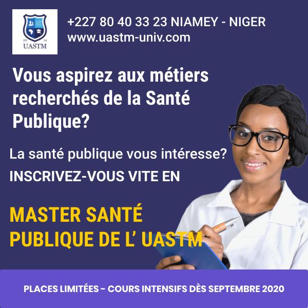Master en Santé Publique de l'UASTM
