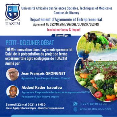 Département d'Agronomie et Entrepreneuriat
